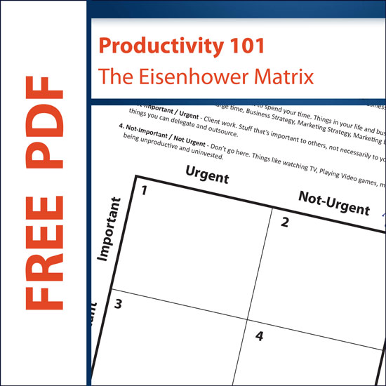 The Eisenhower Matrix Free Download