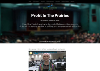 Profit In The Prairies