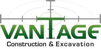 Vantage Construction and Excavation Logo